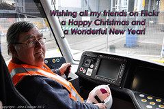 Flickr Christmas Greetings 2017 (john cowper) Tags: christmasgreetings 2017 newyear 2018 alstom sydneylightrail cabin driverscabin citadisx05 thankyou