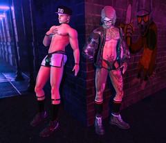 runaway (CodyAdored) Tags: second life smart dufaux noche gabriel thirst male fashion