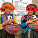 Two Girls with Puppies, Pisac, Peru