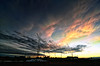 Darken_112 (northern_nights) Tags: photoshop layers stacked darken sunset clouds cheyenne wyoming nikond7000 tokina1116mmf28