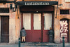 Punished (ignasir) Tags: streetphoto urban child niños de cara la pared puertas restaurante tantarantana