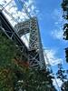 Towering bridge (DC Products) Tags: 2017 new york newyorkcity manhattan washingtonheights gwb georgewashingtonbridge fortwashingtonpark hudsonrivergreenway hudsonriver
