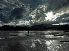 In deep silence... (Lopamudra !) Tags: lopamudra lopamudrabarman lopa andaman andamanandnicobarislands landscape water waterscape beauty beautiful beach kalipur diglipur island clouds cloud mirror sky skyscape india silence silhouette solitude sea seascape bay bayofbengal ocean picturesque picture