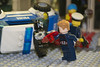 Showdown (LegoInTheWild) Tags: moc afol lego minifigure captainamerica crossbones marvel