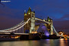 Tower Bridge with the road raised (Nigel Blake, 15 MILLION views! Many thanks!) Tags: tower bridge with road raised nigelblake nigel nigelblakephotography london cityatnight night nighttime dark dusk evening skyline landscape cityscape