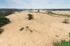 Kootwijkerzand (johan wieland) Tags: 2017 kootwijk kootwijkerzand veluwe winter zandloper zand uitzicht
