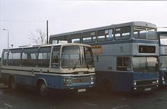 Derby 27 102 Bus Station (Guy Arab UF) Tags: derby city transport 27 ufx627x bristol lhs6l plaxton c35f coach bus station 102 gra102v metrobus mk1 dr1024 mcw derbyshire buses
