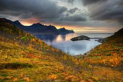 Husøy Sunset (hapulcu) Tags: arctic husøy norge noruega norvege norvegia norway norwegen senja troms automne autumn autunno herbst høst toamna