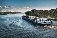 Cargo ship // Amsterdam (Merlijn Hoek) Tags: boot boat water vrachtschip nesciobrug amsterdamrijnkanaal kanaal diemen