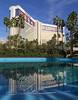 A Mirage in the desert (ORIONSM) Tags: mirage desert hotel pool reflection blue sky lasvegas building mgm olympus omdem1 olympus14150mm