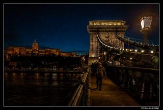 Budapest_Széchenyi Lánchíd_Széchenyi bridge_Budapest Kastély_Budapest Castle_Duna_Danube_Magyarország_Hungary