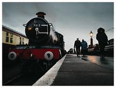 Last Train (Gingydadtog) Tags: 7812erlestokemanor 78xx kidderminster kidderminsterstation locomotive passengers svr severnvalleyrailway steam worcestershire