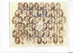 Monticello High School Class of 1932 (Paul Branch) (RLWisegarver) Tags: piatt county history monticello illinois usa il