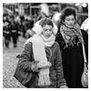 Dans le froid de l'hiver - In the cold of winter (P. Eric) Tags: montmartre paris personnes sundaylights