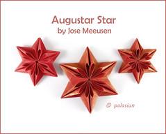 origami star (polelena24) Tags: star origami hex hexagon christmas decoration onepiece josemeeusen