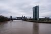 2018 EZB mit Skyline (mercatormovens) Tags: frankfurt city hochhaus main ezb ostend skyline
