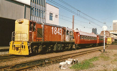 Wellington (andrewsurgenor) Tags: locomotive engine transport diesel nz newzealand train railway railroad narrowgauge rail nzr railfan