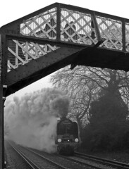 PICT3638c1b (Chappers13) Tags: 71000 fog steamlocomotive cathedrilsexpress addelstone