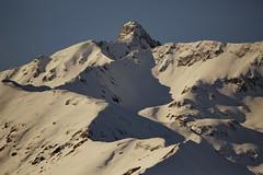 le ombre creano un profilo sulla neve (il goldcat) Tags: goldcat profile profilo montagne mountain alp alpi cevo vallecamonica valsaviore neve snow shade ombra