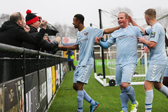 Cray Wanderers 1 Lewes 2 20 01 2018-139.jpg (jamesboyes) Tags: lewes cray bromley football bostik isthmian fa soccer action goal game celebrate celebration sport athlete footballer canon dslr