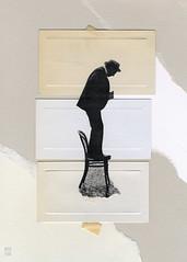 wuthering heights (argyle plaids) Tags: vintage vintageart vintagecollage retro ripped torn rippedpaper tornpaper afraid man vintageman chair beige tan collage collages handmade modern modernist moderno surreal surrealist surrealism surrealismo art arte artwork artiste artistic artsy contemporary contemporaneo design graphic analog analogue weird montage photomontage recycled colaj inspiration gallery handmadecollage analogcollage collageart papercollage paperart seattleartist cutandpaste cutpaste collageartist collageartwork paperartist papercutart modernart moderndesign cutcollage artshow artoftheday handmadeart contemporaryart graphicart graphicdesign graphicdesigner analogart mixedmedia postmodernart fineart visualart