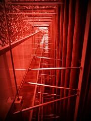 intrico infernale (fotomie2009) Tags: red francia gennaio 2018 marsiglia mucem marseille france provenza provence architecture modern architettura moderna