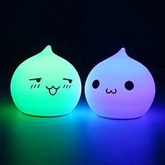 Multicolour Rechargeable Silicone Night Light Lamp (mywowstuff) Tags: gifts gadgets cool family friends funny shopping men women kids home