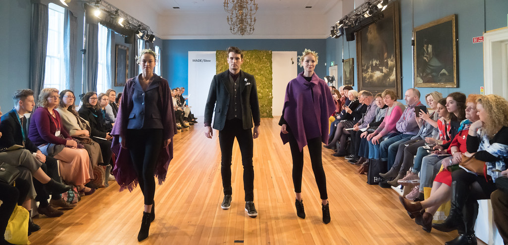 MADE-Slow PRESENTATION OF QUALITY IRISH FASHION DESIGN - STUDIO DONEGAL [FASHION SHOW AT THE RDS JANUARY 2018]-136250