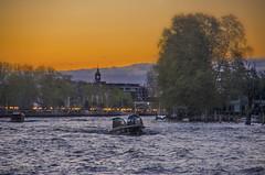El Anochece de Tigre (小珂风行遏沙) Tags: ifttt 500px river boating río de la plata lurch anochece trisection wobble dusk argentina orange spring tigre buenos aires forenight