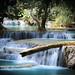 Kuang Si waterfalls. Laos