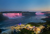 evening at Niagara Falls (Qba from Poland / qmphotostudio) Tags: qbafrompoland qba qmphotostudio canada unitedstates niagara niagarafalls evening river falls landscape lighs longexposure sky blue sunset