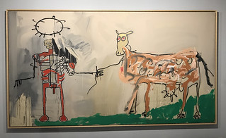 The Field Next to Other Road, Jean-Michel BASQUIAT.