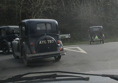 Austin 7s #2 (occama) Tags: ayc797 bev254 austin ruby 1934 1935 old cars vintage british small cornwall uk winter run seven 7