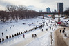Winter at the Forks (pong0814) Tags: canon eos 5dii dslr photography ef35mmf14l prime outdoors winnipeg manitoba canada winter skatetrail forks activity february 2018 people sports walking skating cycling warminghuts trail