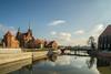 Ostrów Tumski (pasiak75) Tags: 2018 ostrówtumski samyang24mm35ts starówkawrocławska tiltshift wroclaw manuallens mirror odbicie ogródbotaniczny outdoor reflections winter woda zima