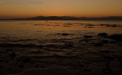 lough swilly sunset (patrickcolhoun) Tags: sunset nightsky loughswilly sea water donegal ireland inishowen countydonegal ulster buncrana lake seascape shore beach rocks