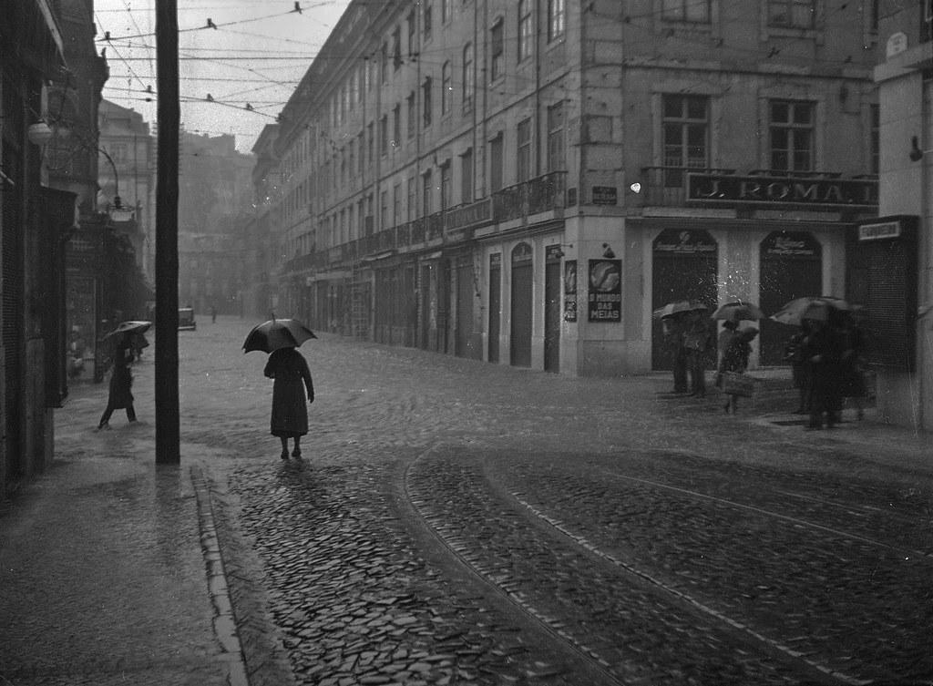 Rua dos Fanqueiros, Baixa (J. Benoliel, 1945)