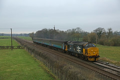 Curthwaite, Cumbria (DieselDude321) Tags: 37403 class 37 drs direct rail services dbso 9709 2c49 1140 barrowinfurness carlisle curthwaite cumbria