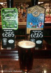 March 4th, 2018 Today's Tipple - Grand Union (karenblakeman) Tags: baroncadogan pub caversham uk beer ale valebrewery grandunion binghams simcoecolumbus 2018 2018pad march reading berkshire