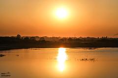 sunset (akashunnikrishnan) Tags: nature love beauty mothernature shades evening canon picoftheday landscape likeit photoday photography orange