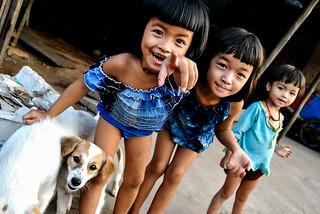 Girls, Sihanoukville