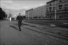 dr150911_0080d (dmitryzhkov) Tags: street moscow russia life human monochrome social urban streetphotography documentary people face streetportrait bw run runner sport compete uniform servant dmitryryzhkov blackandwhite portrait everyday candid stranger