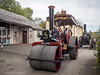 Bishops Castle Michaelmas Fair (Ben Matthews1992) Tags: bishops castle michaelmas fair 2017 salop shropshire britain british england old vintage historic preserved preservation vehicle transport steam traction engine locomotive rc8 aveling porter 5853 no3323 roller