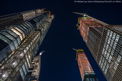 Vertical (20180114-DSC07480-Edit) (Michael.Lee.Pics.NYC) Tags: newyork hudsonyards construction architecture cityscape night longexposure sony a7rm2 zeissloxia21mmf28