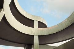 Curved Concrete II (Photothomas85) Tags: berlin urban lines curved abstrakt texture beton charlottenburg overpass überführung helix spirale