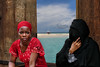 Two ways of being a woman (celestino2011) Tags: zanzibar donne mare travel