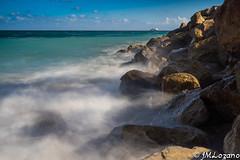 LA BRUMA MARINA (josmanmelilla) Tags: melilla mar agua azul cielo nubes españa larga exposición pwmelilla flickphotowalk pwdmelilla pwdemelilla sony