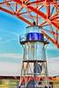 Fort Point Light (cb|dg photo) Tags: color girders goldengatebridge lighthouse ggnra blackandwhite hallway fort brick presidio sanfrancisco fortpoint