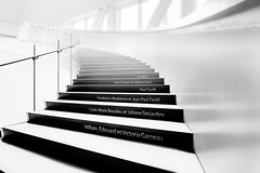 Escaliers du Pavillon Pierre Lassonde (tad888) Tags: architecture escaliers stairs pierrelassonde musée museum pierre lassonde muséedesbeauxarts québec quebec canada noir blanc bw blackandwhite blackwhite noirblanc nb monochrome monochromatic black white bruno bouchard tad888