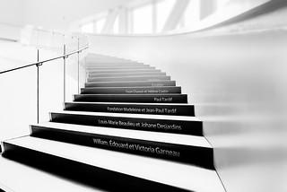 Escaliers du Pavillon Pierre Lassonde